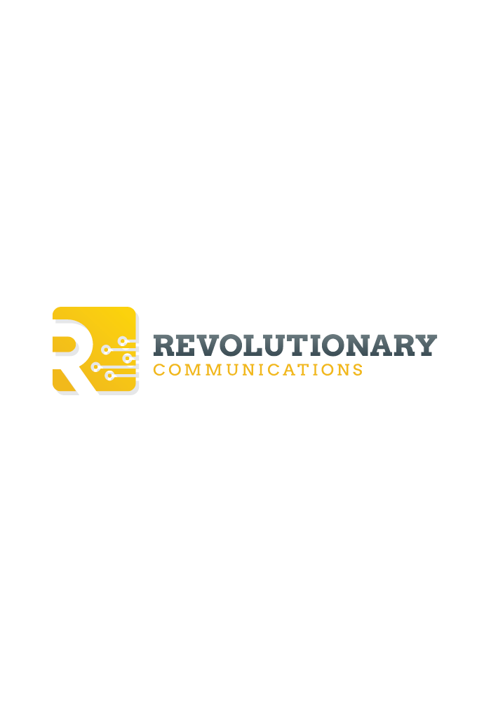 Revolution Communications new logo - portfolio graphic