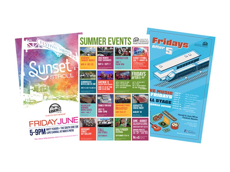 Kankakee Development Corporation - Event Posters